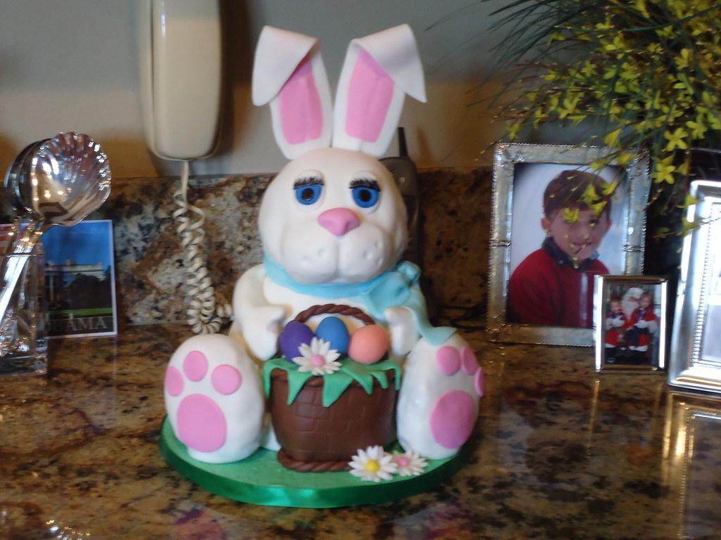 3d bunny cake tutorial