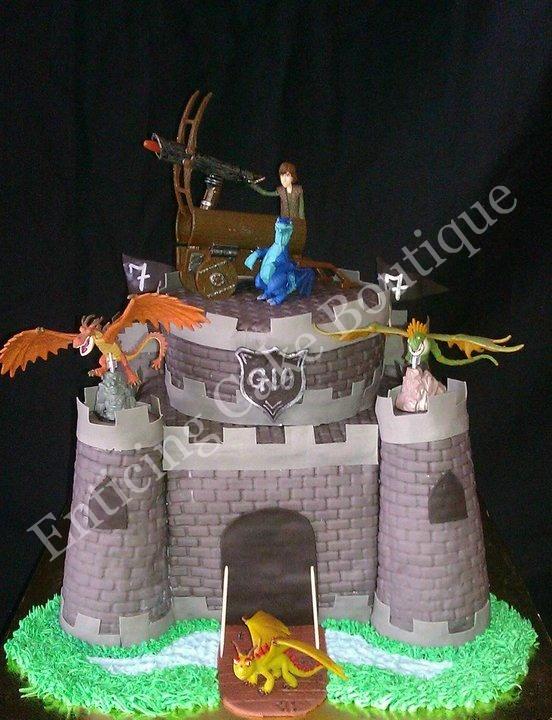 3d dragon cake tutorial