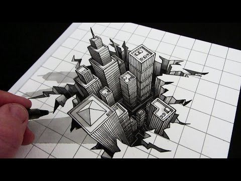 3d drawing tutorial easy