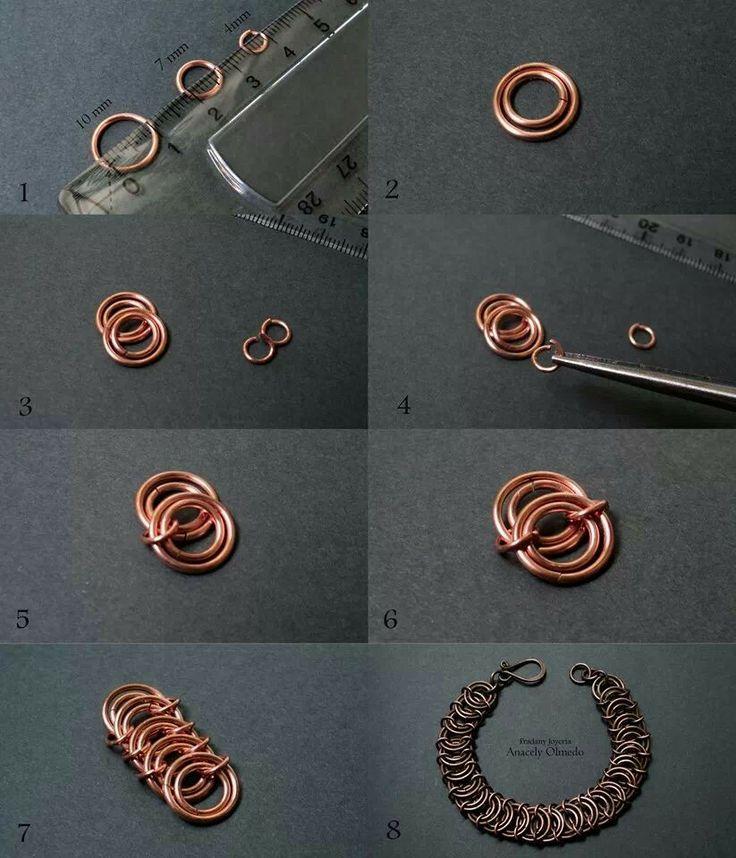 scale maille bracelet tutorial