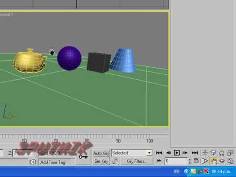 3ds max camera tutorial