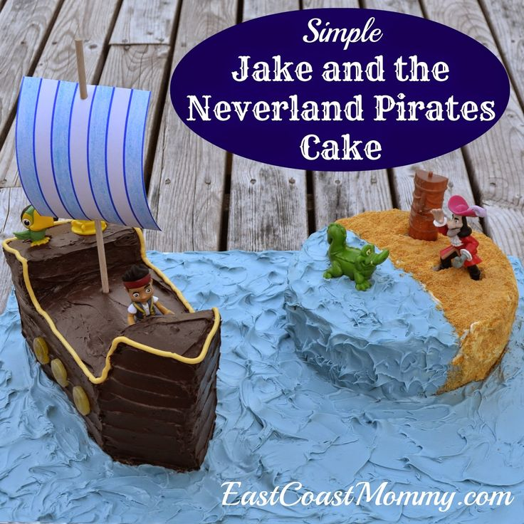 jake and the neverland pirates cake tutorial