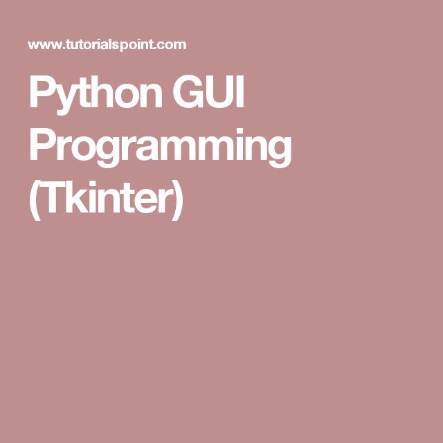 python computer language tutorial