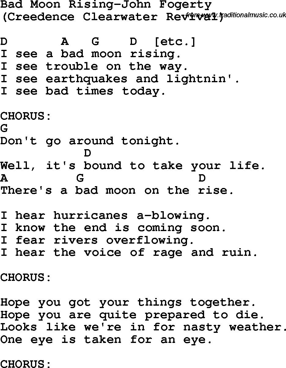 bad moon rising ukulele tutorial