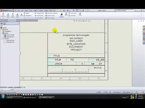 solidworks advanced drawing tutorial