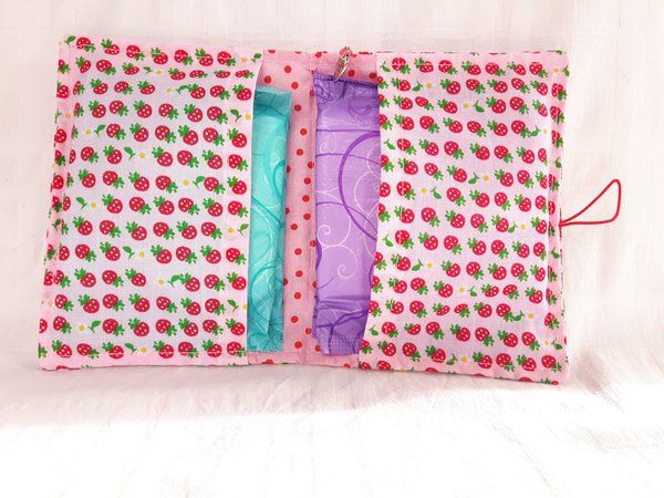 diy cloth pads tutorial