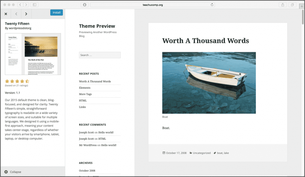 wordpress theme customization tutorial