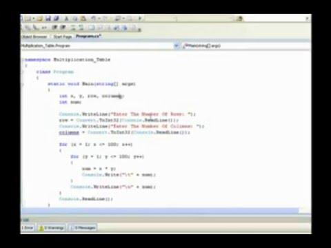 mvc 5 tutorial c#