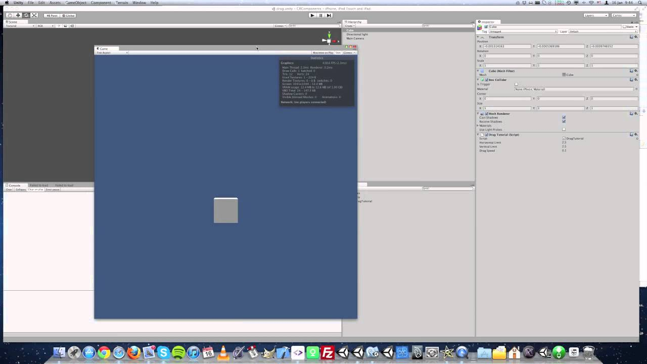 unity 2d ios tutorial
