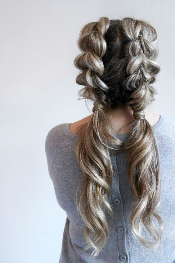 french braid your own hair tutorial