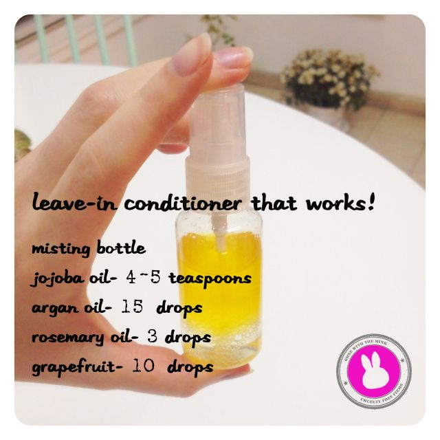 leave in conditioner tutorial