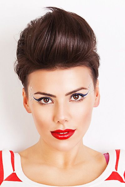 short hair quiff tutorial