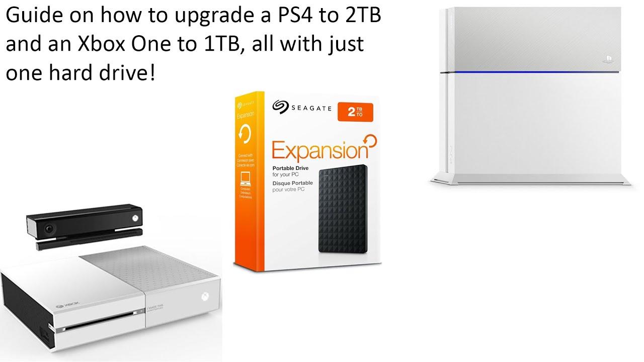 xbox one hard drive upgrade tutorial