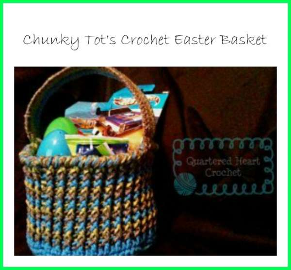 chunky crochet basket tutorial