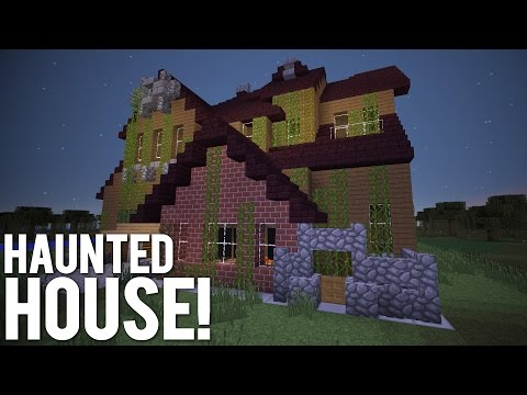 minecraft haunted house tutorial