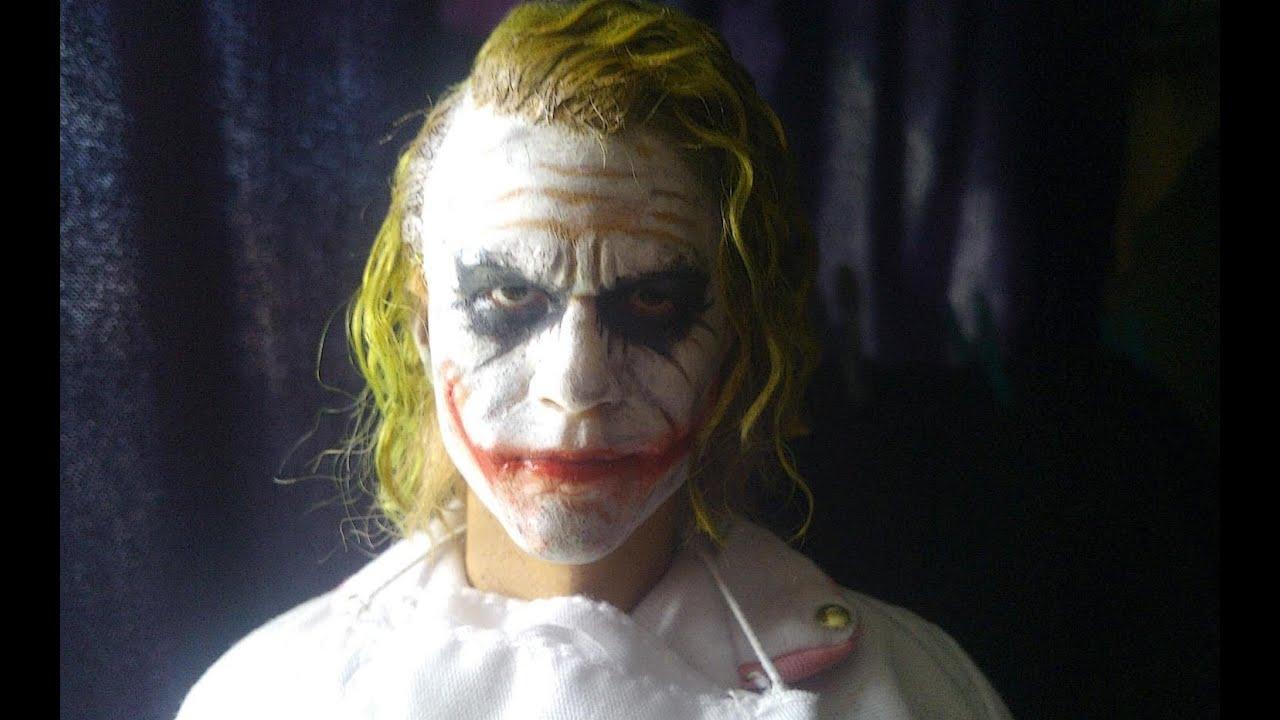 heath ledger joker hair tutorial