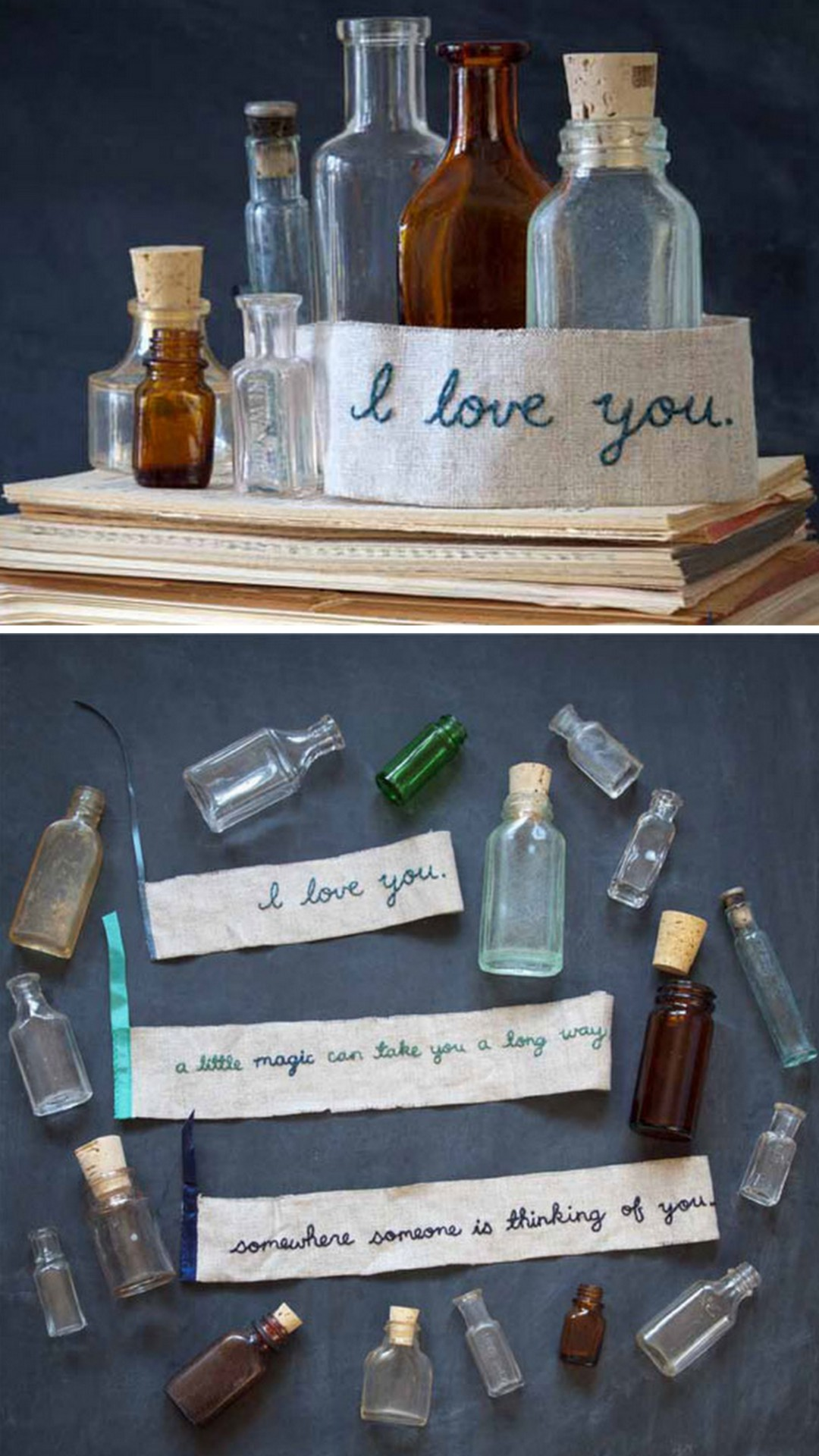 message in a bottle tutorial