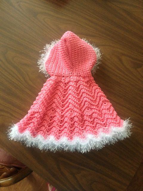 crochet baby poncho tutorial