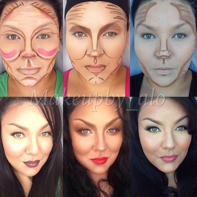 contour and highlight tutorial