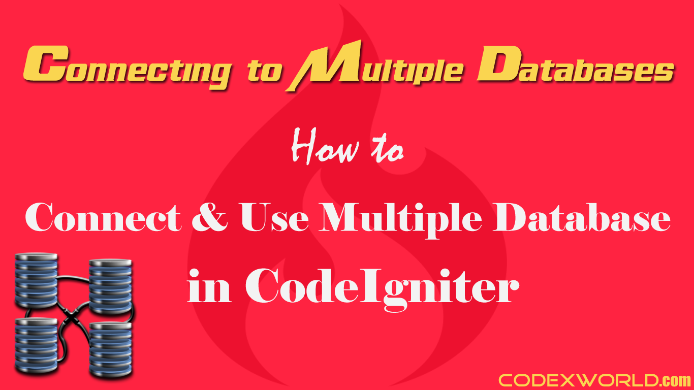 codeigniter database connection tutorial