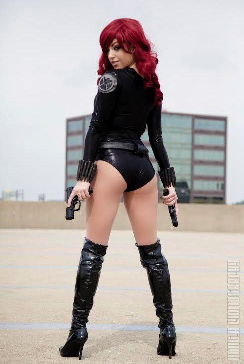 black widow cosplay tutorial