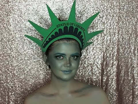 living statue makeup tutorial