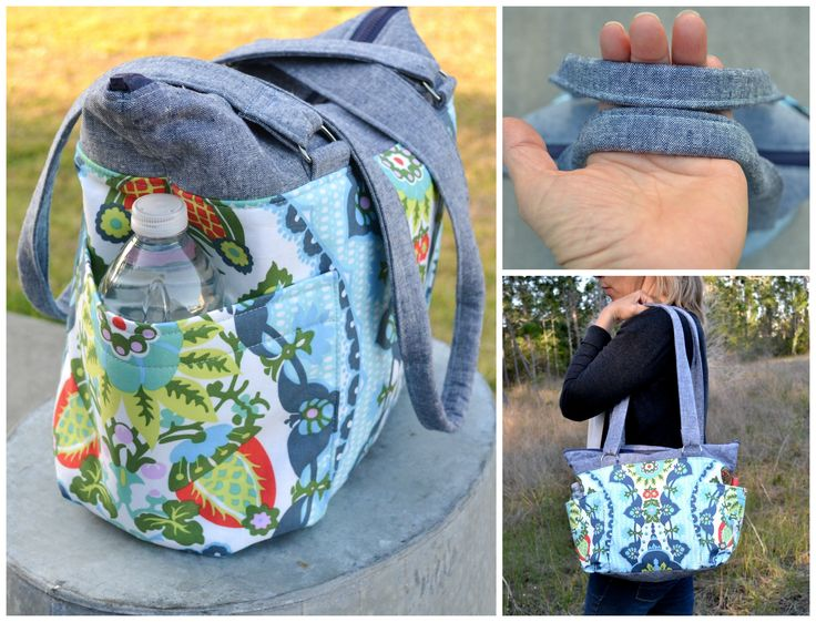 tutorial tote bag with pockets