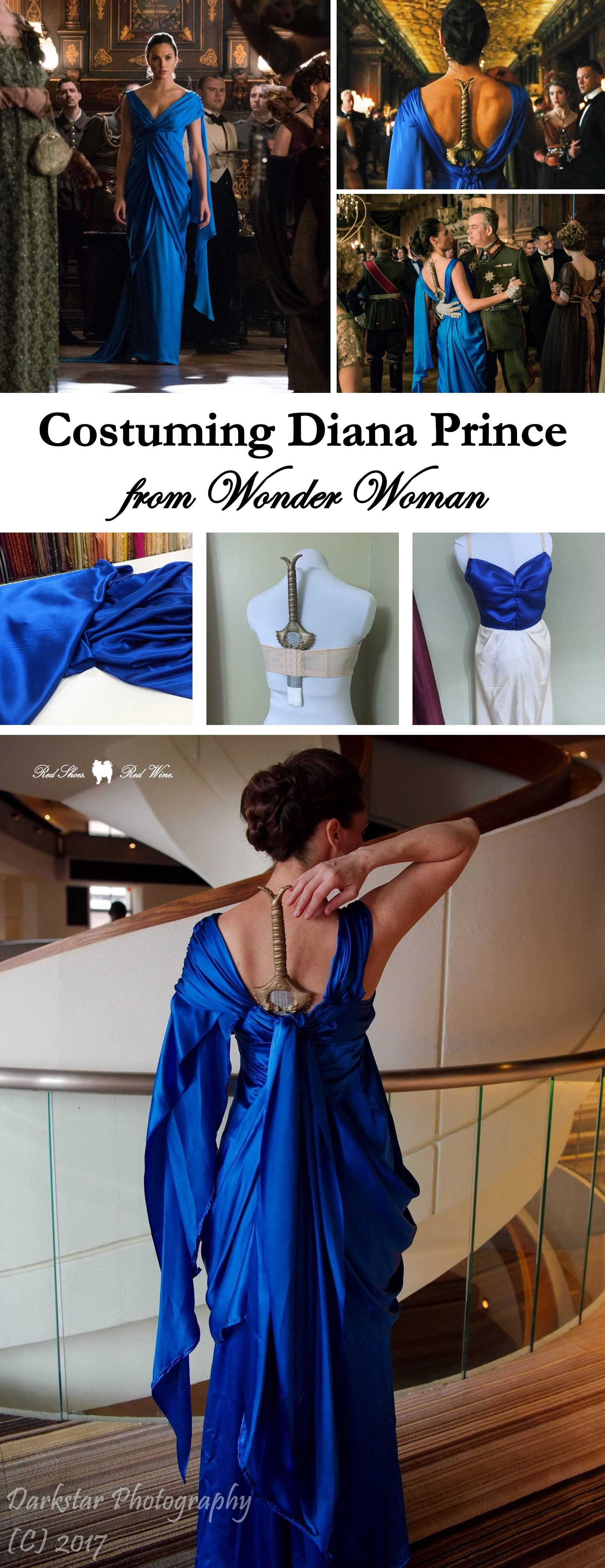 wonder woman costume tutorial