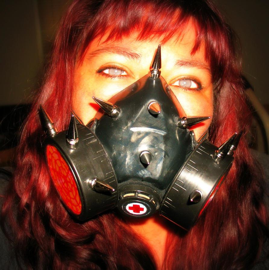 cyber goth mask tutorial