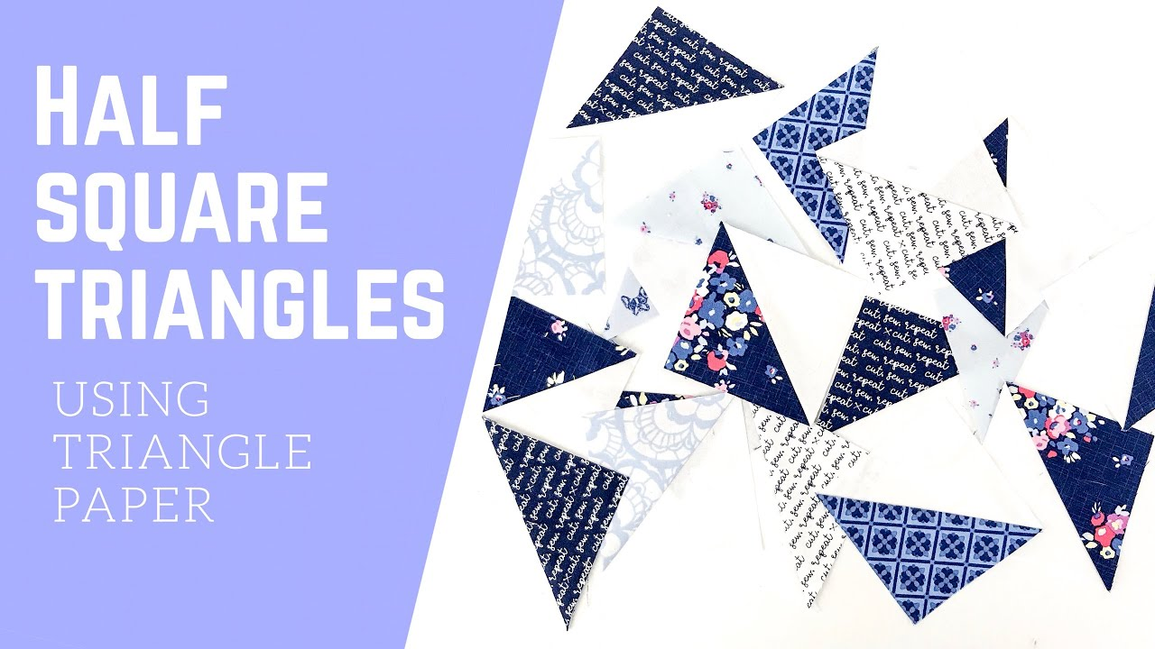 triangles on a roll tutorial