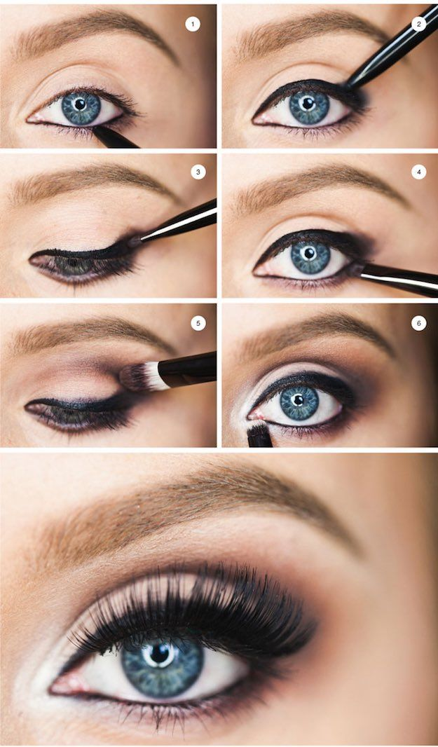 makeup tutorial for blue eyes and fair skin