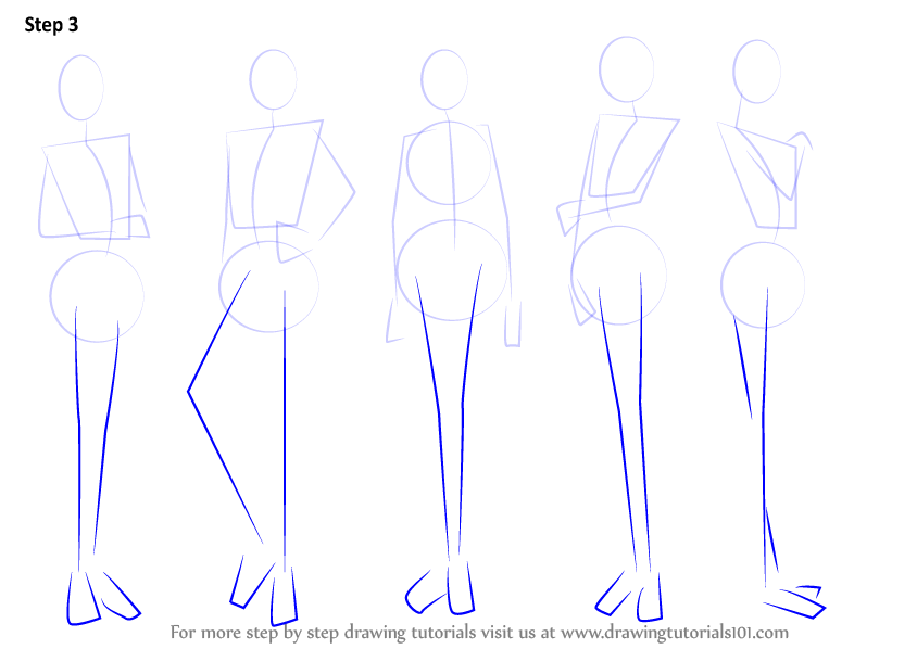 female anatomy drawing tutorial