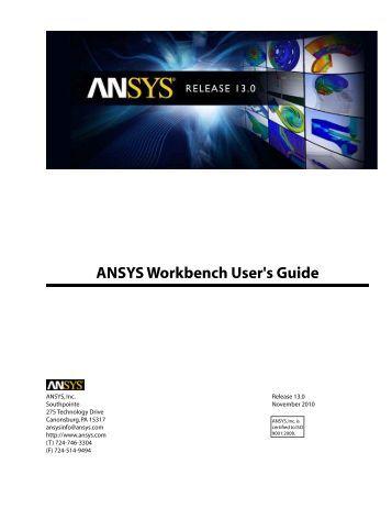 ansys workbench 15 tutorial pdf