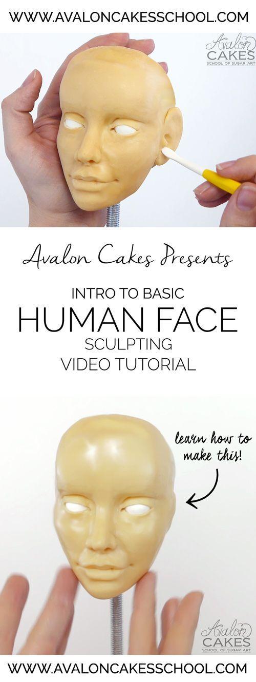 tutorial on sculpting camera cake