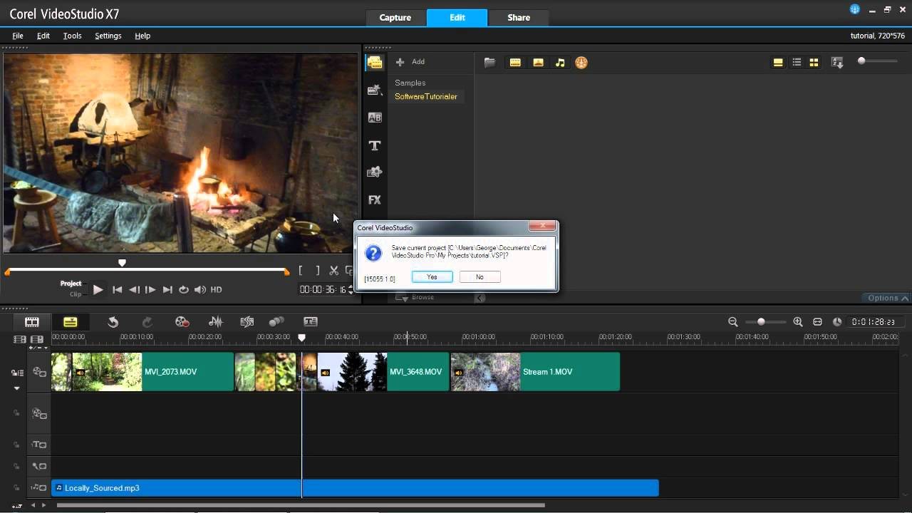 corel videostudio tutorial pdf