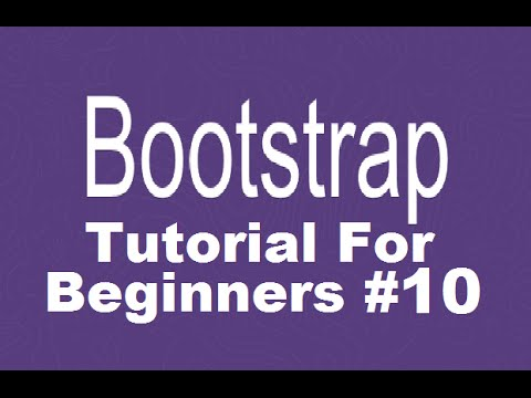 bootstrap tutorial video for beginners