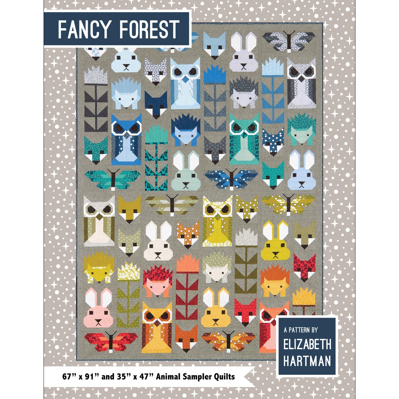 fancy forest quilt tutorial