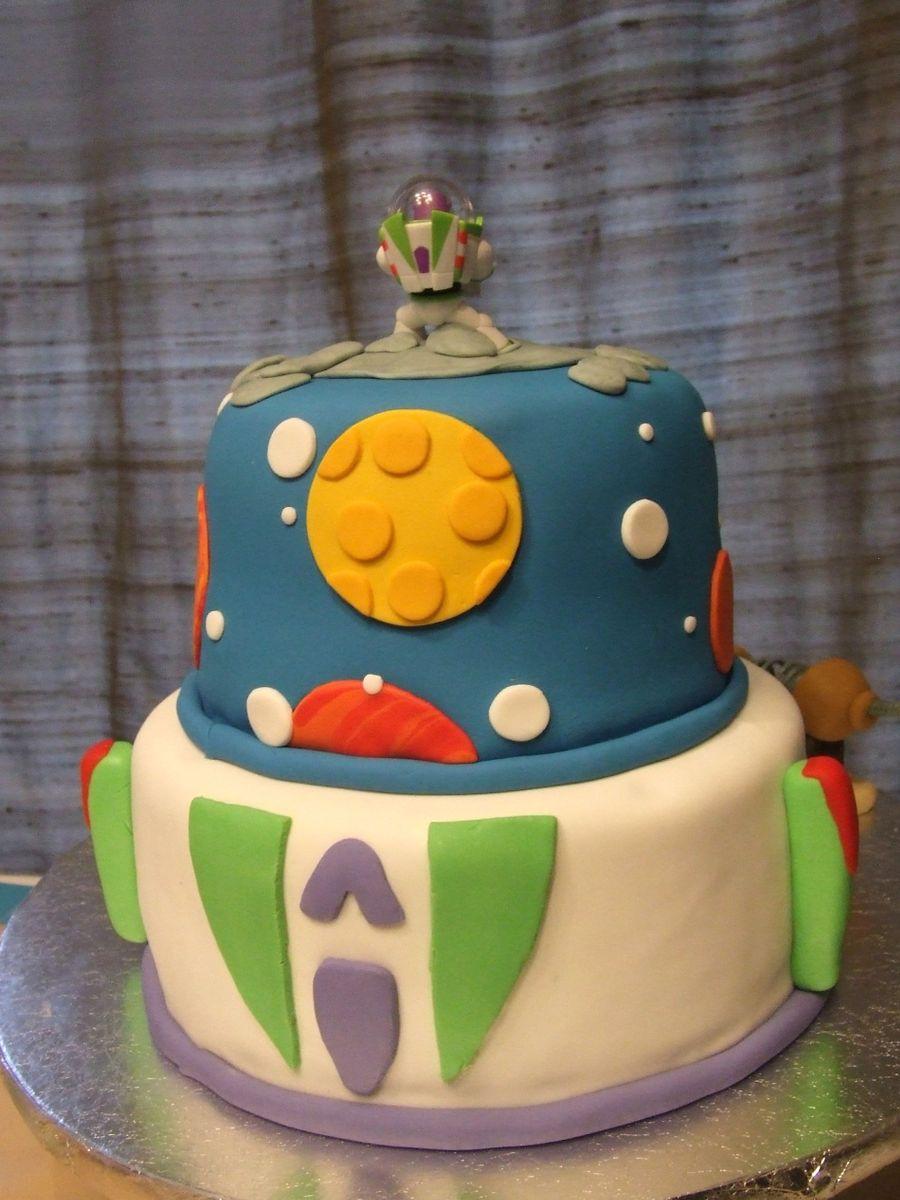 buzz lightyear cake tutorial