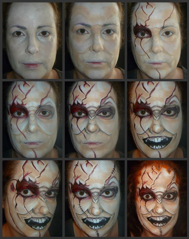 full face makeup tutorial step by step pictures