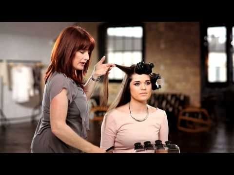 babyliss pro hot rollers tutorial