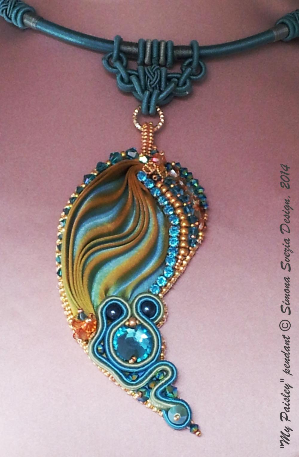 shibori ribbon jewelry tutorial