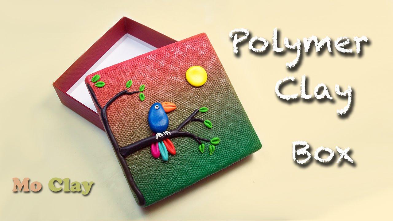 polymer clay box tutorial