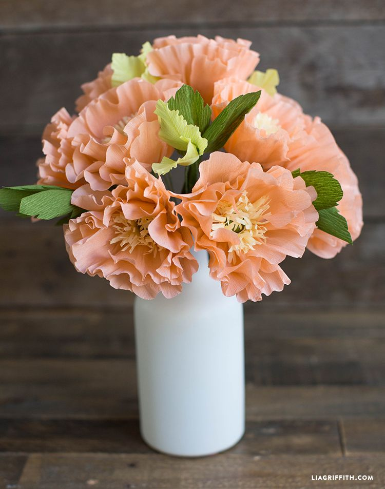 crepe paper flower tutorial new and improved