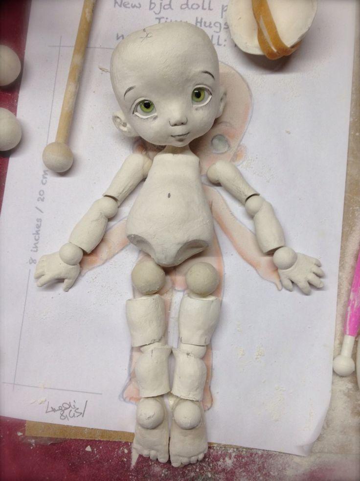 polymer clay doll making tutorial