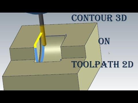 mastercam 3d toolpath tutorial