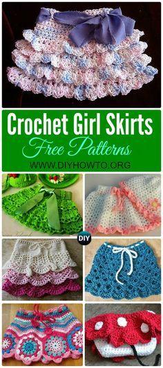 crochet baby skirt tutorial