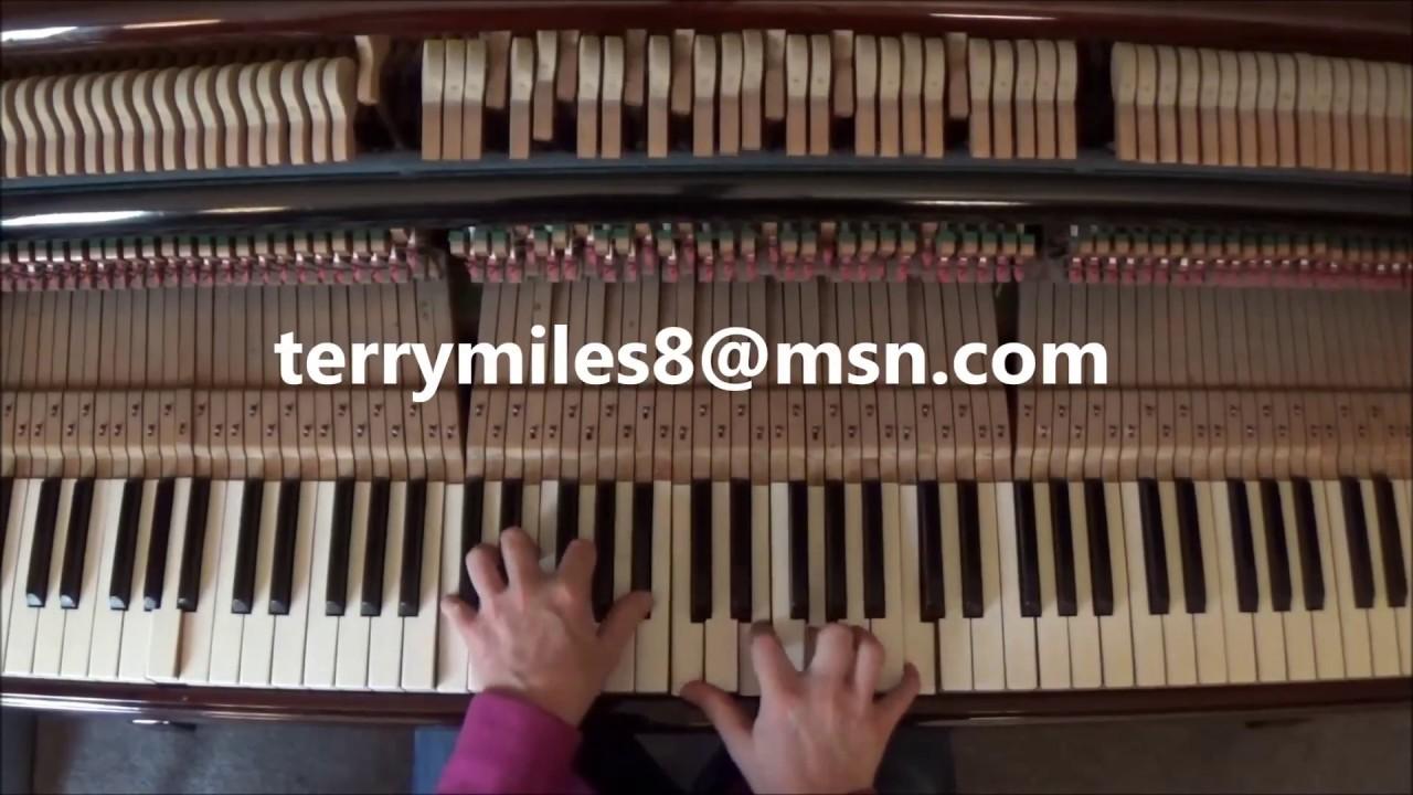 at the beginning piano tutorial