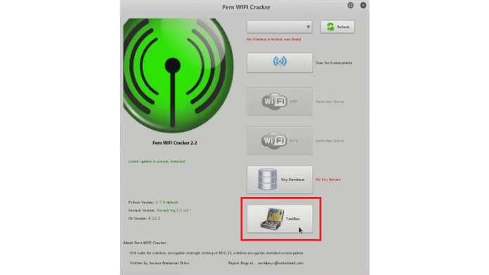 fern wifi cracker tutorial