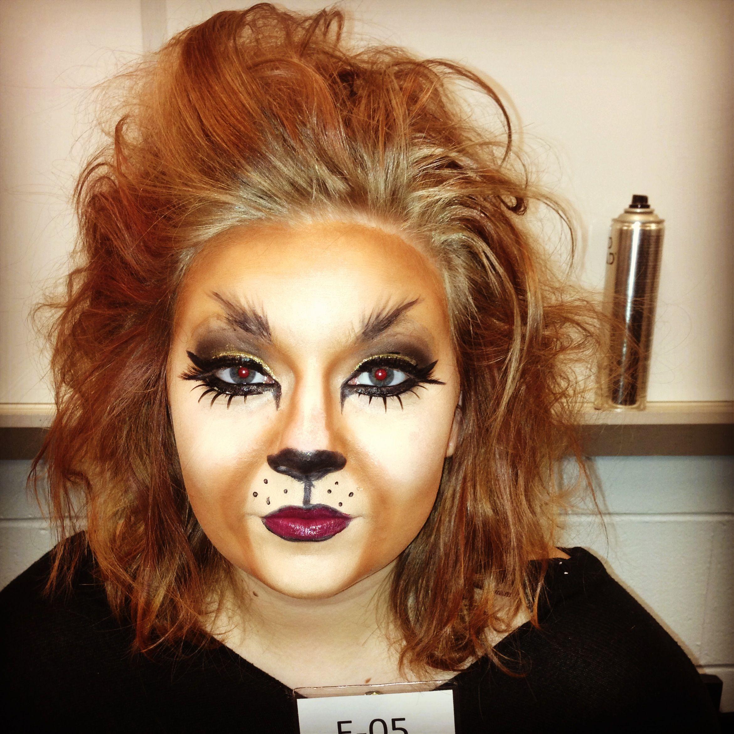 easy tiger makeup tutorial