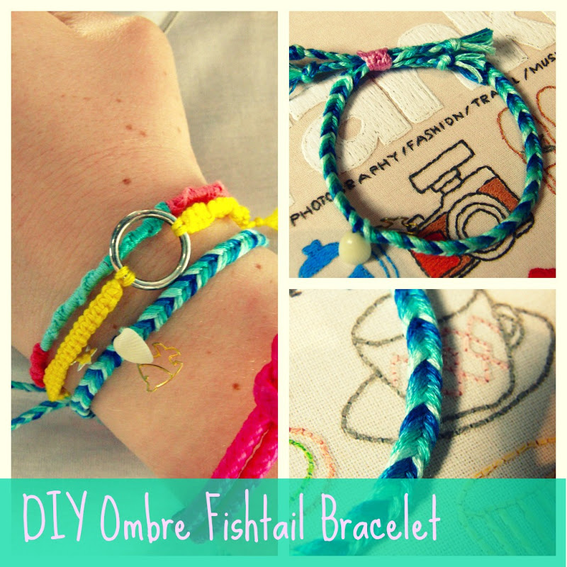 basic friendship bracelet tutorial